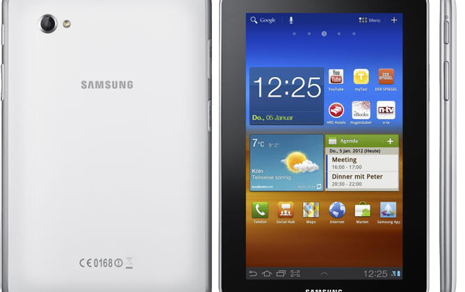 Samsung Galaxy Tab 7.0 Plus N revealed and detailed