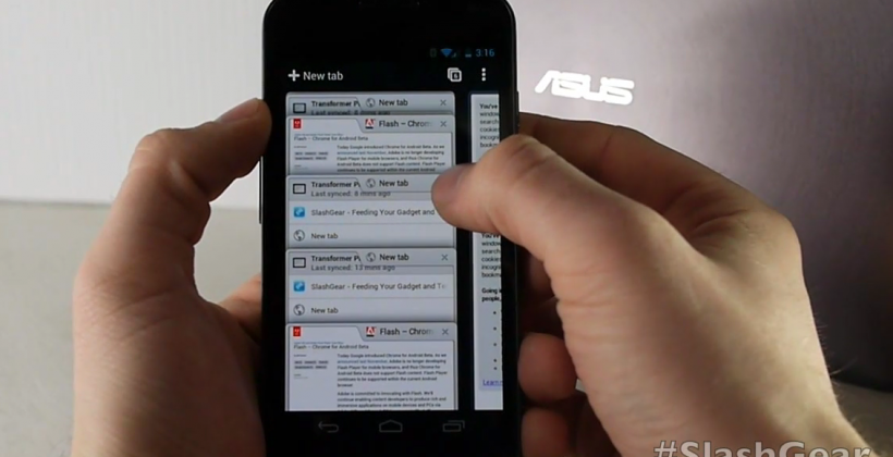 Chrome Beta for Android 4.0 ICS Review