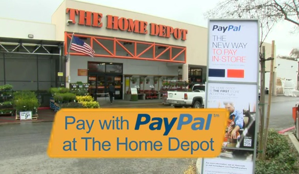 Home Depot PayPal payment pilot set for chainwide rollout