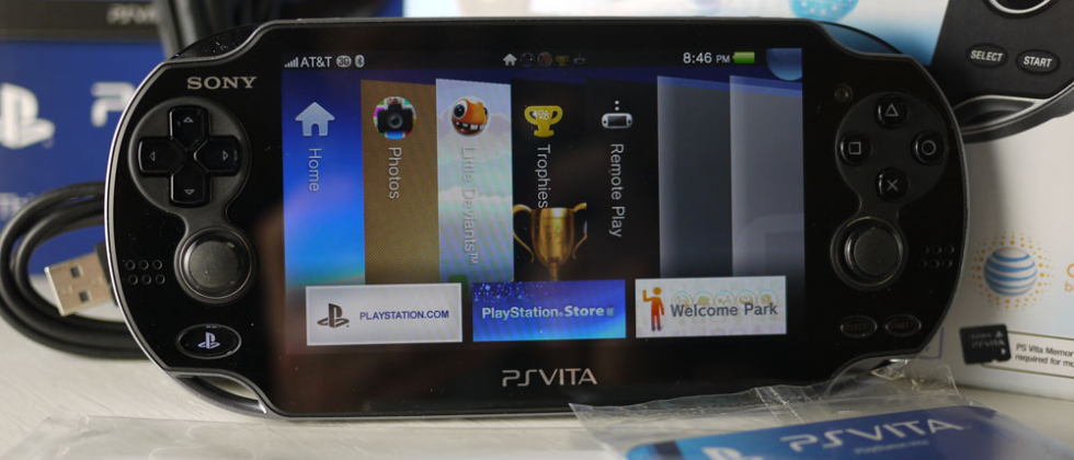 Sony feathers PS Vita store