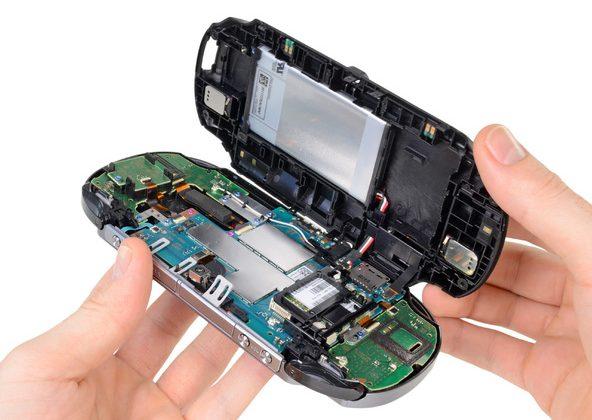 PS Vita spills its guts