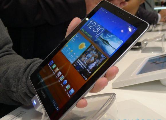 Verizon Samsung Galaxy Tab 7.7 LTE launches March 1