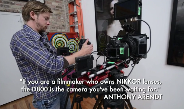 Nikon D800 takes amateurs to a whole new level of HD