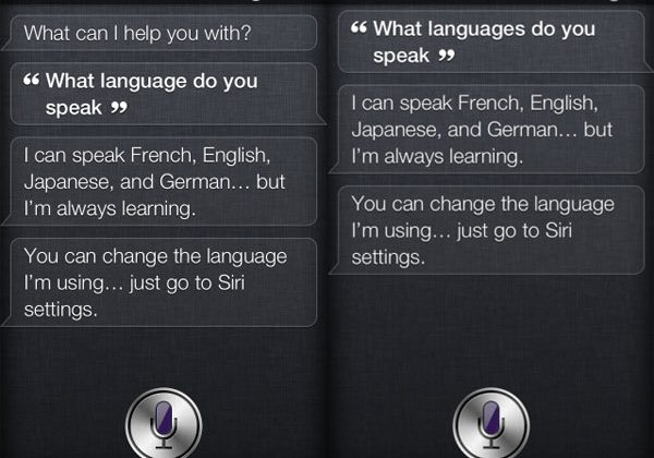 Siri tips her own Japanese language skills
