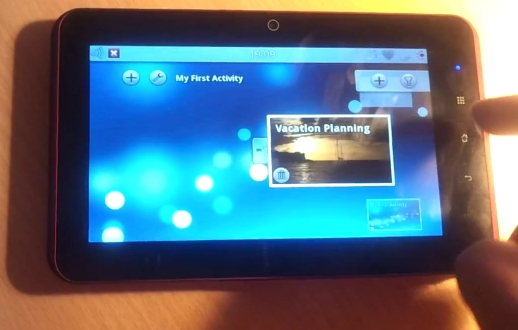 Spark Linux tablet given video rundown