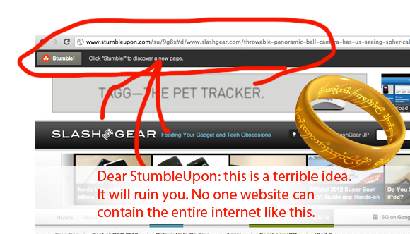 StumbleUpon changes repeat Digg blunders of old