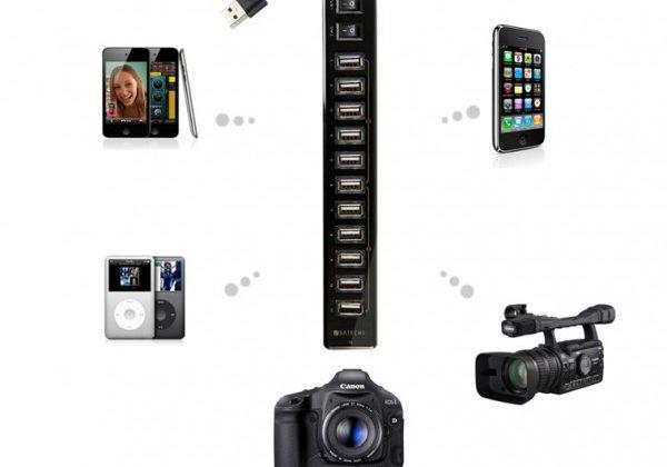 Satechi 12 Port USB Hub revealed and detailed