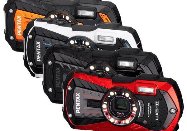 Pentax updates rugged camera lineup with Optio WG-2 series