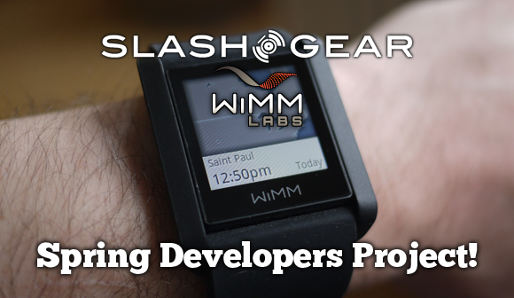 Join in on SlashGear's WIMM Spring Developers Project!