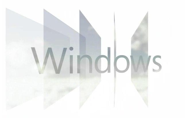 Windows 8 logo shows Microsoft's back to basics