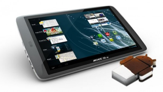 Archos G9 tablets get Android 4.0 ICS update