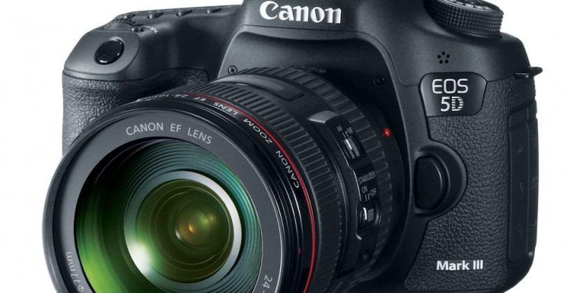 Canon EOS 5D Mark III official