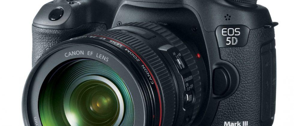 Canon EOS 5D Mark III official