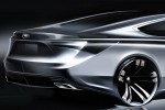 Toyota teases sleek US-designed sedan