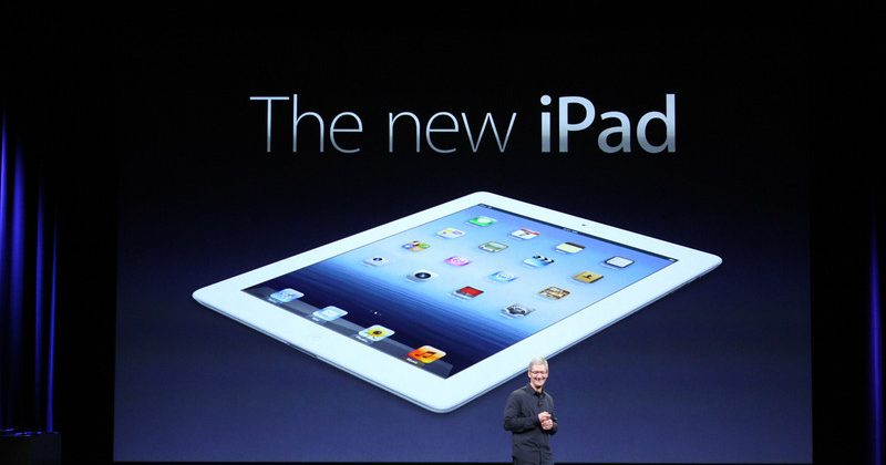 iPad HD Retina Display official