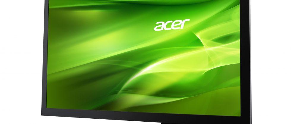 Acer reveals five new Ultra Slim LED backlit LCD displays