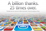 App Store 25 billionth download winner and app revealed