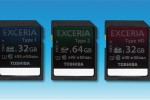 Toshiba announces EXCERIA SD cards: world's fastest
