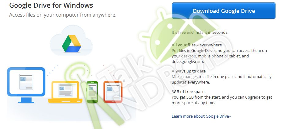 Google Drive leak shows 5GB of storage and mobile apps