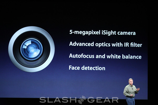 Apple details iPad 3's new iSight camera