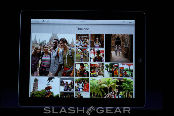 Apple introduces iPhoto for iPad, updates iMovie and iWork