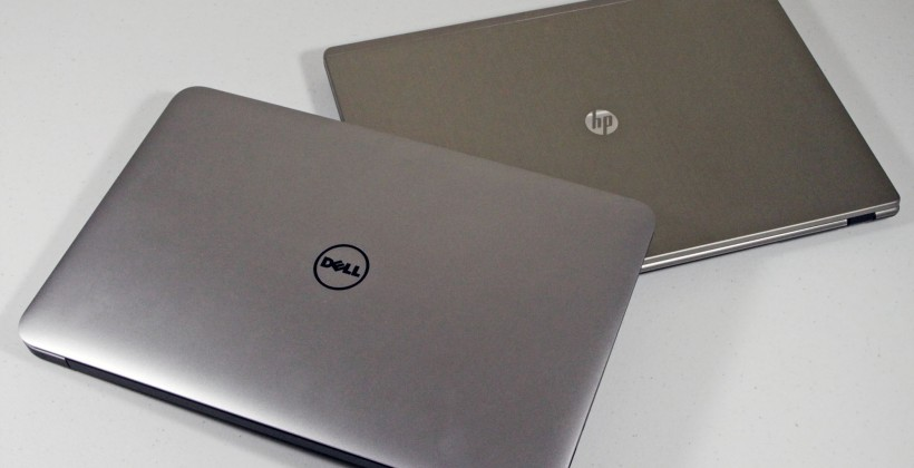 Dell XPS 13 Ultrabook versus HP Folio 13