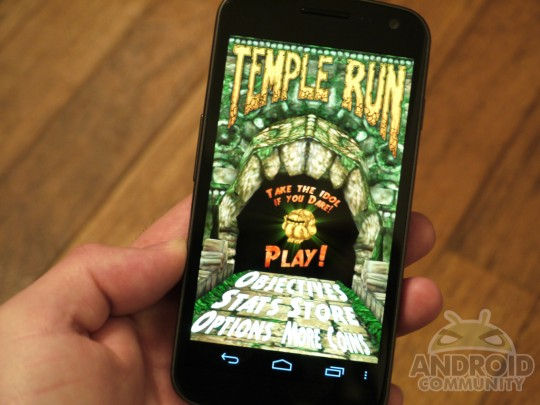 Temple Run for Android seeks iOS success on Galaxy Nexus