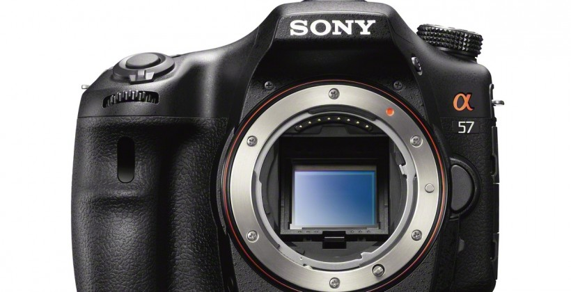 Sony a57 DSLR Camera revealed and detailed