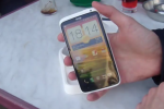 HTC One X caught in the wild