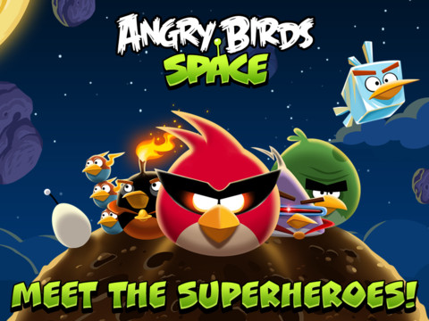 Angry Birds Space released