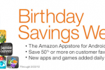 Amazon Appstore celebrates one year with app deals