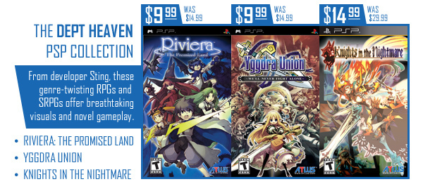 Atlus PSP games get price drop on PSN