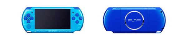 Sony unveils sky blue/marine blue PSP value pack