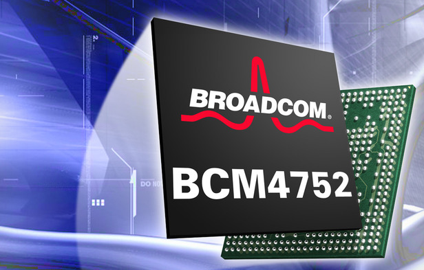 Broadcom's new GPS chip offers 10X performance, half the power consumption