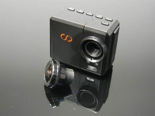 CamOne Infinity brings interchangeable lenses to the action cam