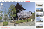 Google Street View Japan reveals fabulous Cherry Blossom Edition