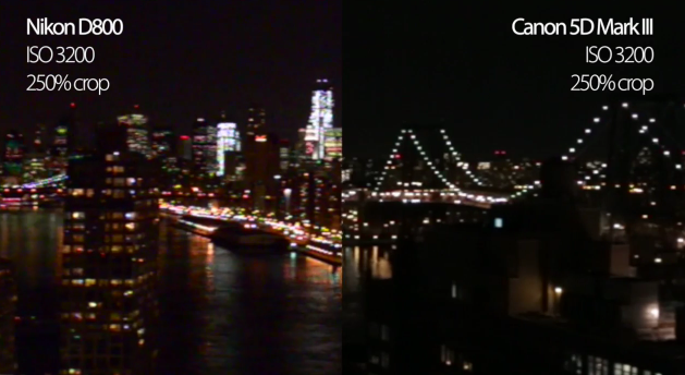 Nikon D800 takes on Canon 5D Mark III for video quality