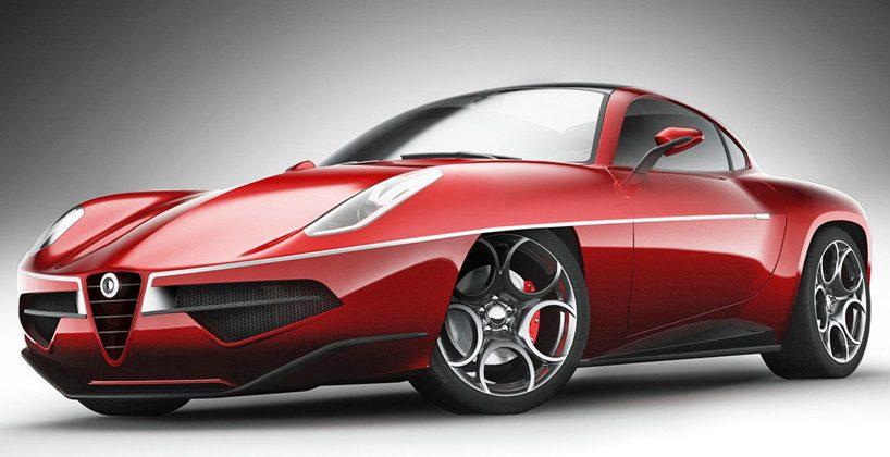 Alfa Romeo Disco Volante >> Alfa Romeo Showcases Disco Volante 2012 Concept Slashgear