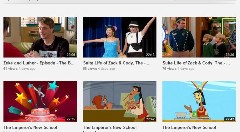 Disney Channel content hits YouTube