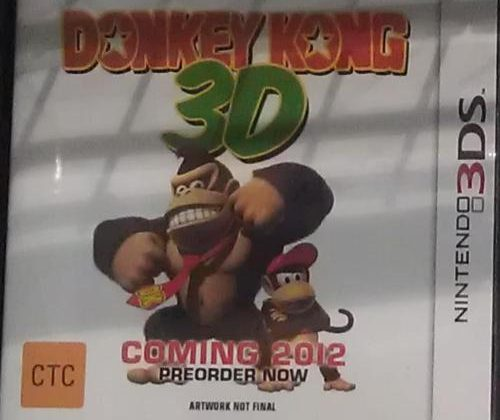 GameStop Donkey Kong 3D displays were bogus, store says