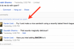 Google+ now groups spam comments out of sight
