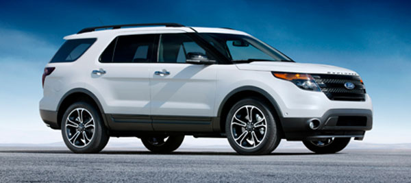 Ford unveils new twin turbo 2013 Explorer Sport