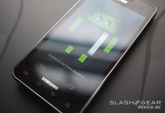 Samsung: never mind, no Android 4.0 ICS for GSII