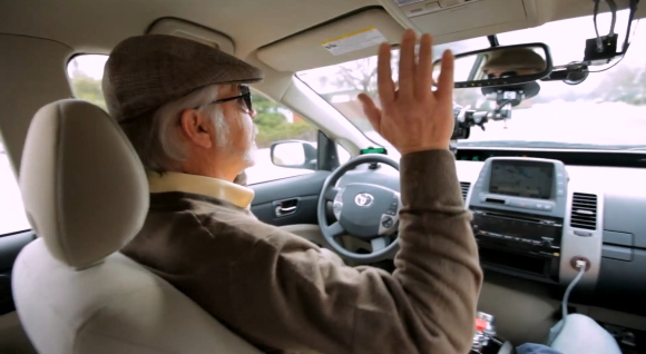 Google demos self-driving car with the help of a blind man