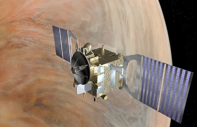 Venus Express blinded after massive solar storms