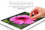 Apple posts new iPad images and specs