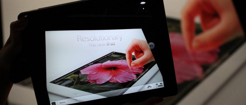 New iPad Super High Aperture Retina Display tech revealed