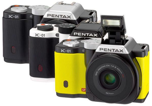 Pentax launches K-01 interchangeable lens camera