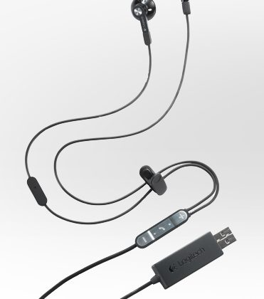 Logitech unveils BH320 USB Stereo Earbuds optimized for business