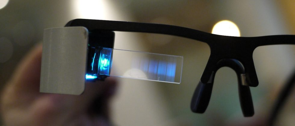 Lumus OE-31 wearable display hands-on